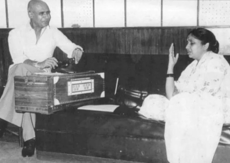 Khayyam With Asha Bhosle