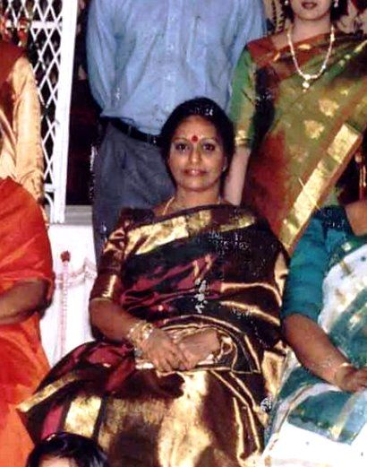 Nalini Chidambaram during her younger days