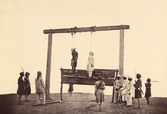 Narasimha Reddy was hanged on 22 February 1847