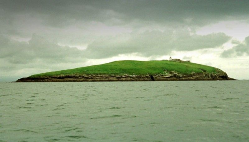 Private Island of Bear Grylls in Wales