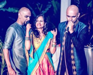Raghu Ram with His Brother and Sister