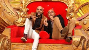 Raghu and Rajiv in Comedy Nights Bachao
