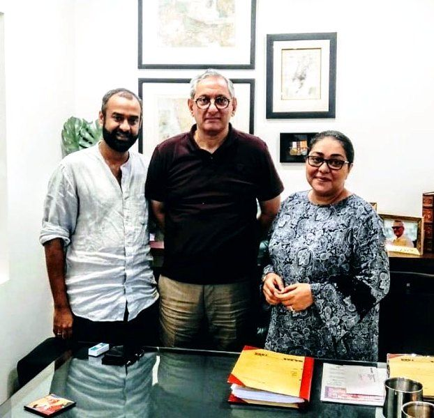 Rakesh Maria with film director Meghna Gulzar