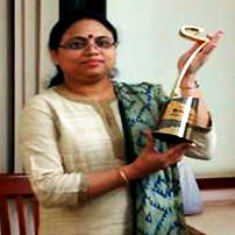 Ritu Karidhal with her Young Scientist Award