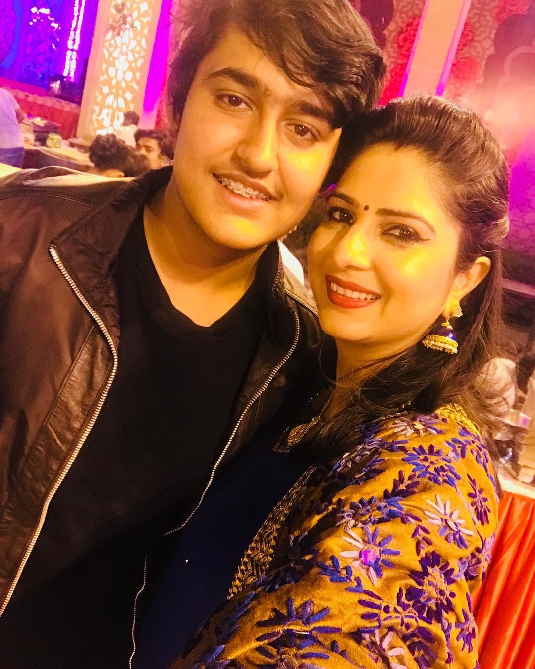Sakshi Joshi with her son