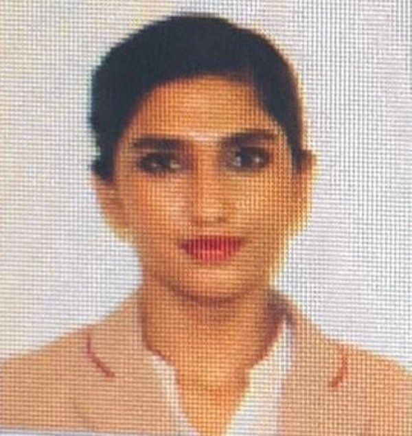 Shamia Arzoo as a Flight Attendant