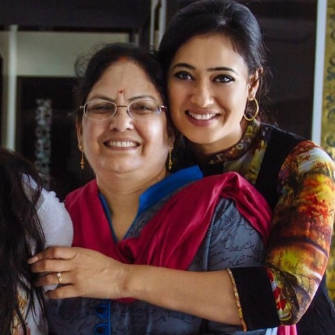 Shweta Tiwari with her mother