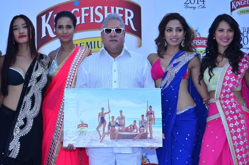 Sobhita Dhulipala at the preview of Kingfisher Calendar