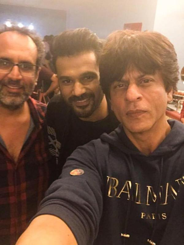 Soham Shah with Shah Rukh Khan