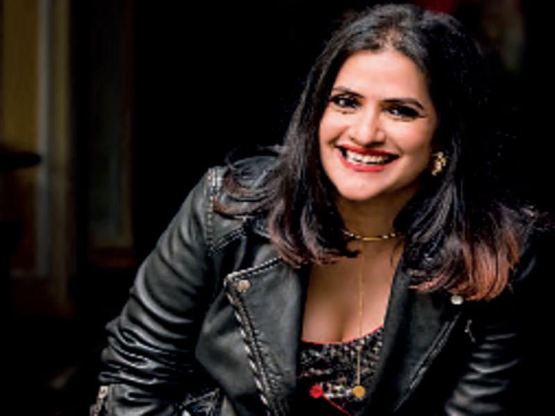 Sona Mohapatra Posing With Her Jacket