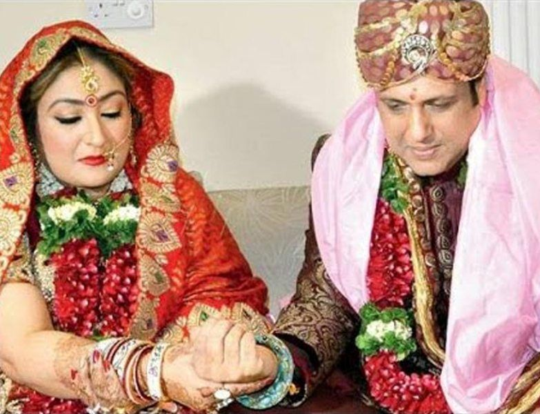 Sunita and Govinda getting married for the second time