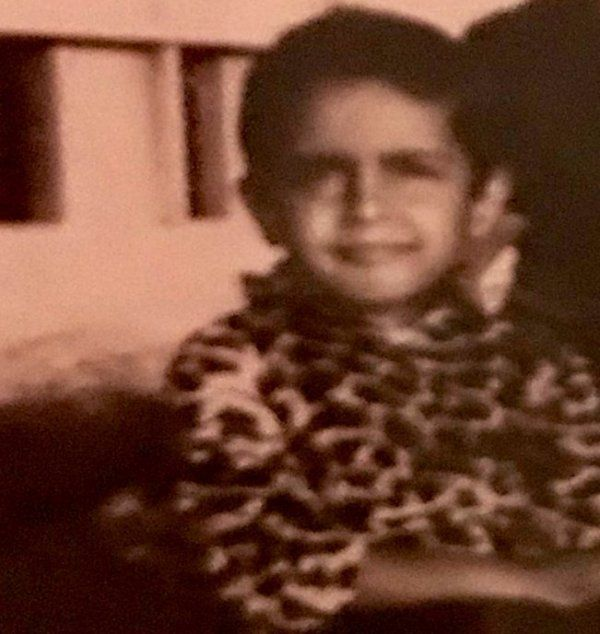 Syed Akbaruddin as a Child