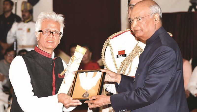 Tej Hazarika Receiving Bharat Ratna