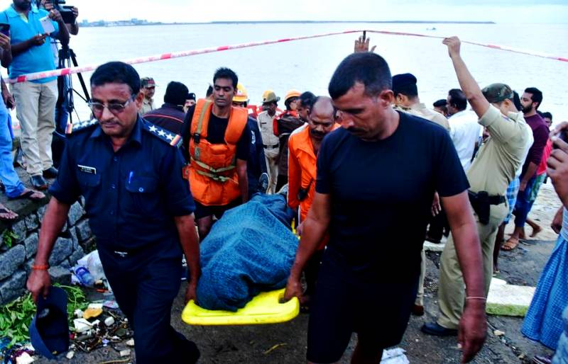 VG Siddhartha's Body Being Recovered From The Netravati River