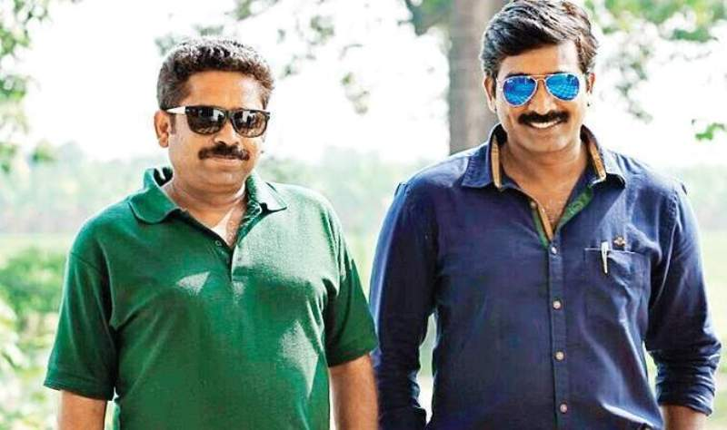 Vijay Sethupathi With Seenu Ramaswamy