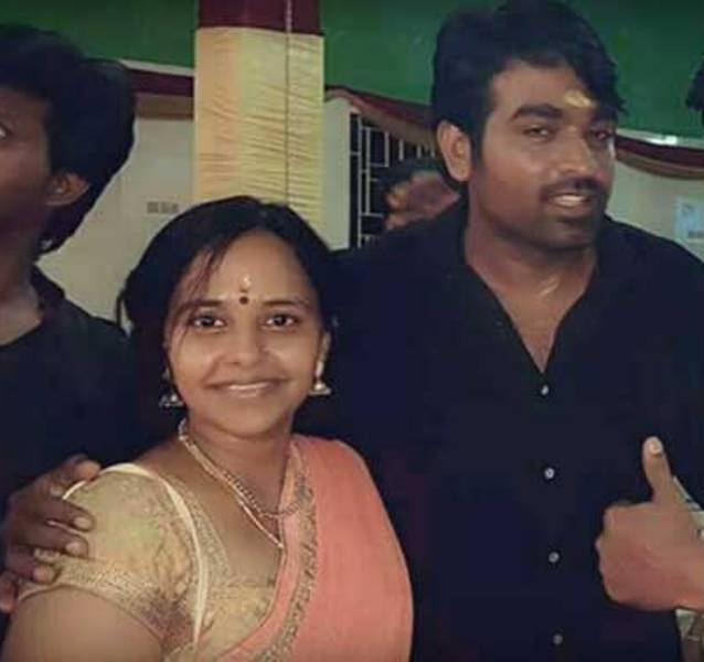 Vijay Sethupathi With his Wife Jessie