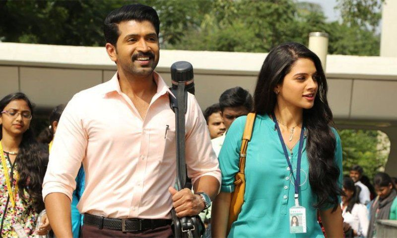 A Still from Arun Vijay's Movie-Thadam
