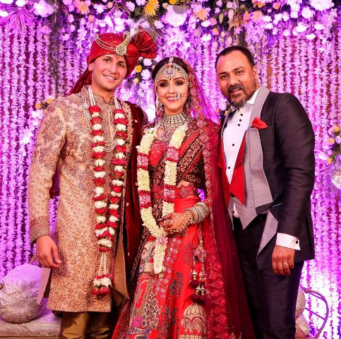 Aarti Chabria's wedding picture