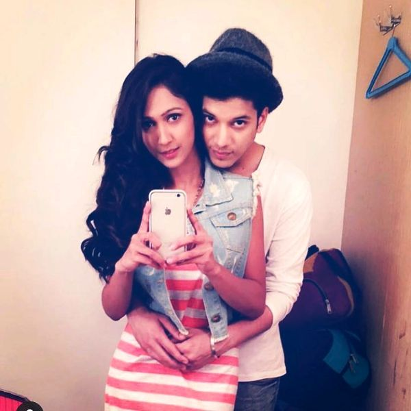 Adhish Khanna with His Girlfriend