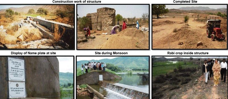 One of the Amla Ruia's Water Saving Projects
