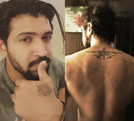 Arun Vijay's Tattoos
