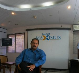 Arvind Swami in His Company Talent Maximus