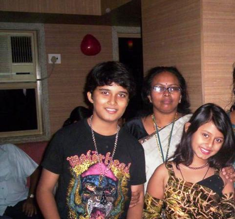Avinash Mukherjee with His Cousin Richa in a Party
