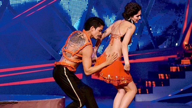 Bruna Abdullah performing on Nach Baliye 6