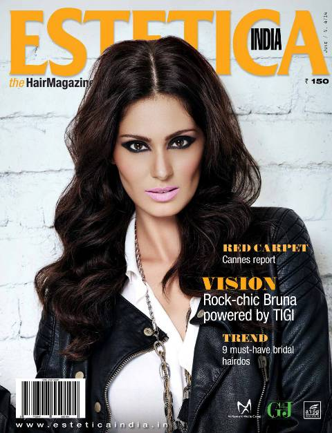 Bruna Abdullah on Estetica India magazine