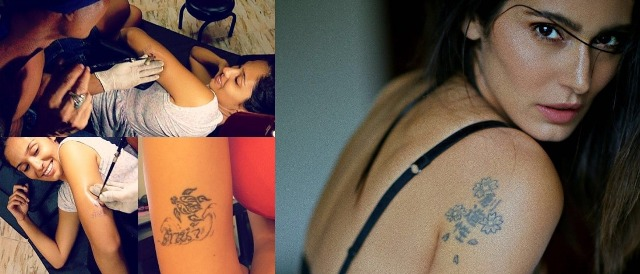 Bruna Abdullah's tattoos