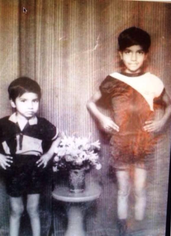 Childhood Picture of Vennela Kishore