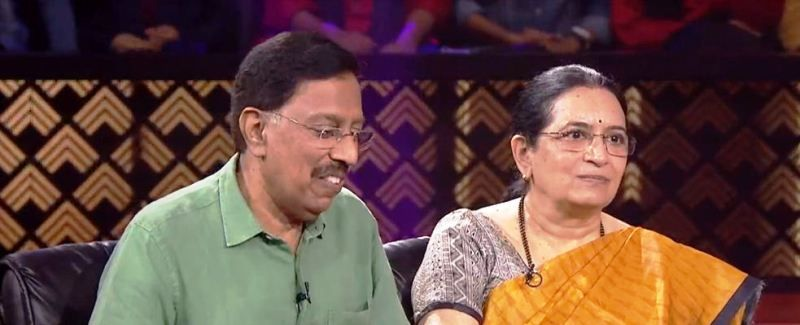 Dr. B. Ramana Rao and His Wife