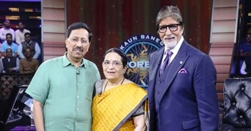 Dr. Ramana Rao and Hema Rao on KBC 11