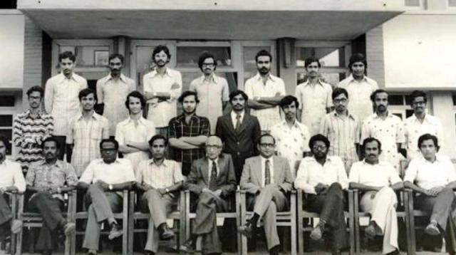 Early photo of the Classmates and Teachers of Sivan