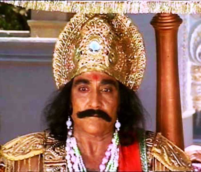 Goga Kapoor as Kansa in Mahabharat