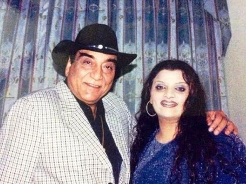 Goga Kapoor with His Daughter Payal Kapoor