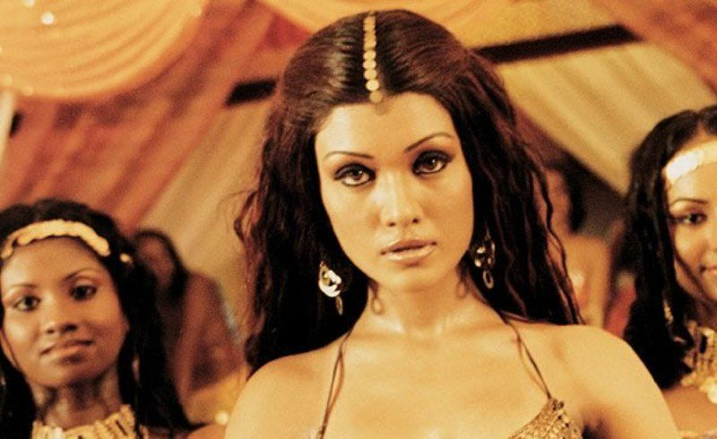 Koena Mitra in a scene from Musafir