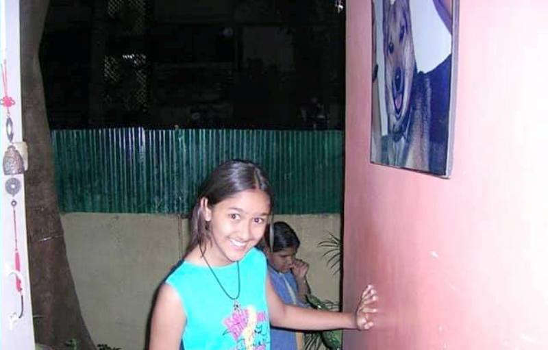 Krissann Barretto's Old Picture
