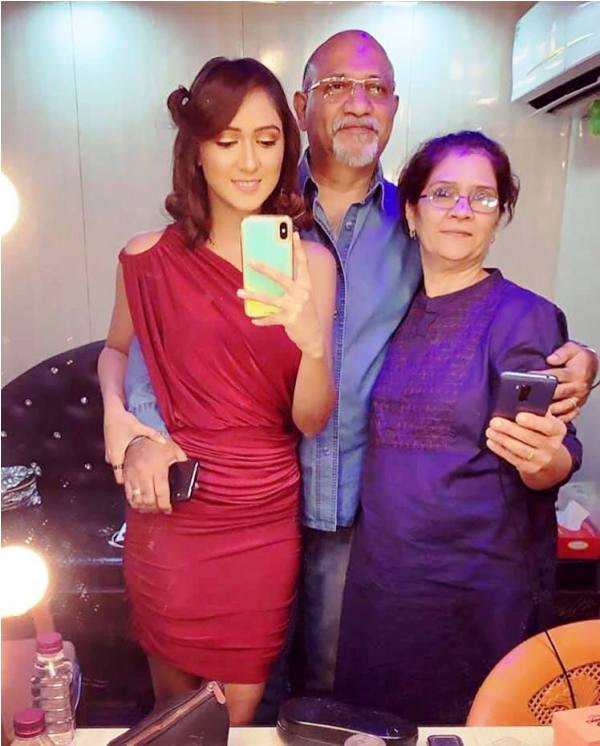 Krissann Barretto's Parents