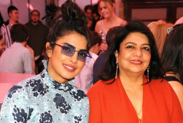 Madhu Chopra with her daughter