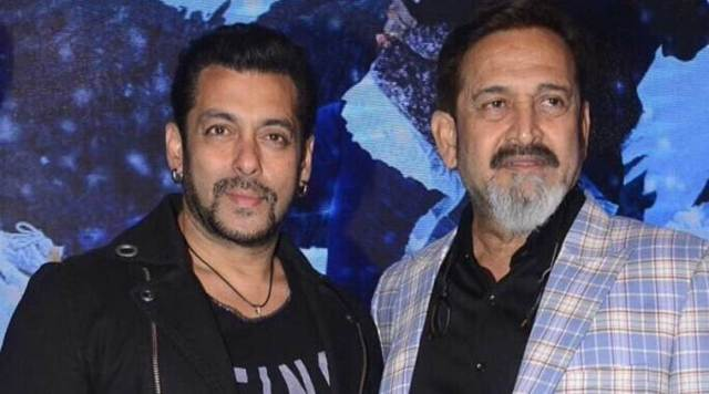 Mahesh Manjrekar with Salman Khan