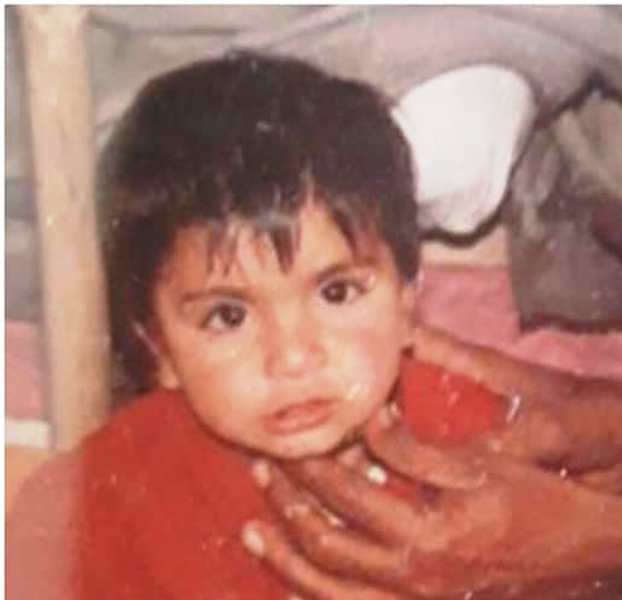 Mandeep Gujjar's Childhood Picture