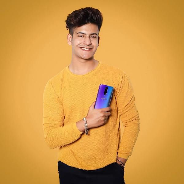 Manjul Khattar advertising Oppo Phone