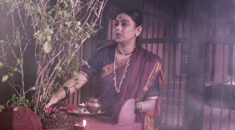 Medha Manjrekar in a still from kaksparsh