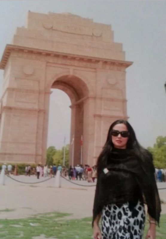 Mehr Tarar's first visit to India