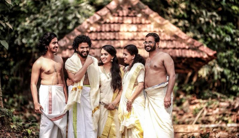 Neeraj Madhav with His Family