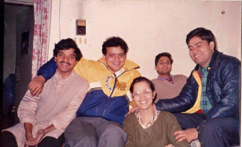 Old Picture of Varun Badola