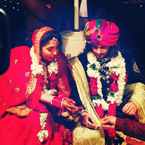 Rajat Tokas wedding picture