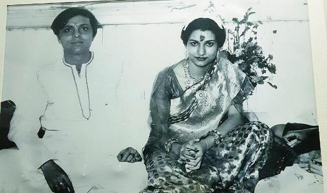 Rukmini Maitra's parents