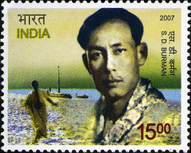 S . D. Burman's Commemorative Postage Stamp
